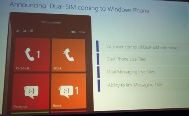 Telefony Windows Phone Dual-SIM