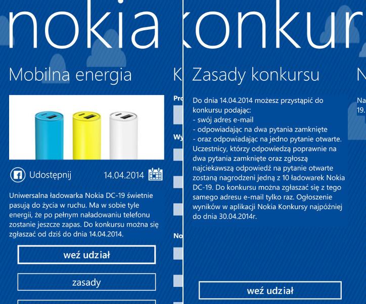 Nokia Konkursy - przenośna ładowarka Nokia DC-19