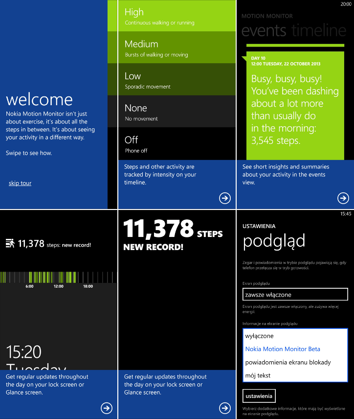 Nokia Motion Monitor Beta
