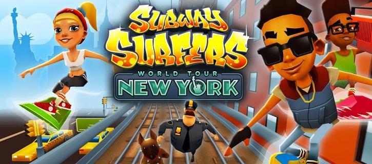 Subway Surfers New York City - Windows Phone