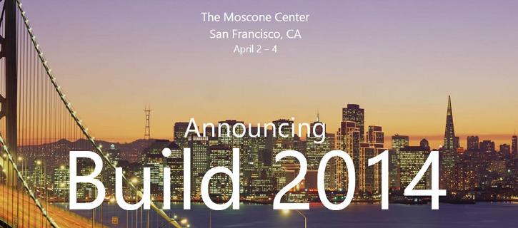 Microsoft BUILD Developer Conference 2014