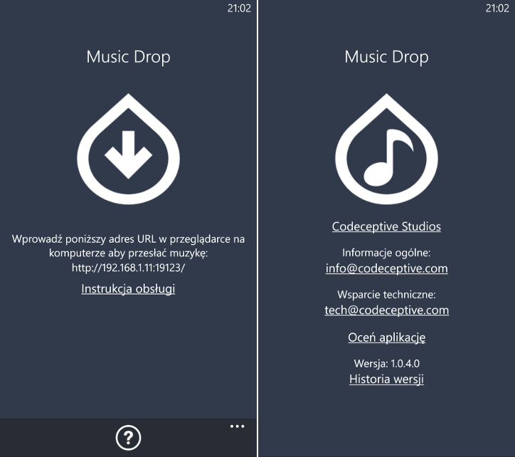 Music Drop 1.0.4.0 Windows Phone