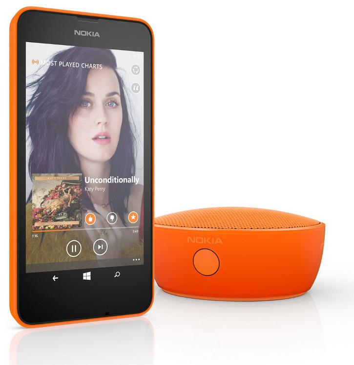 Nokia Lumia 630 i Minigłośnik Bluetooth Nokia MD-12