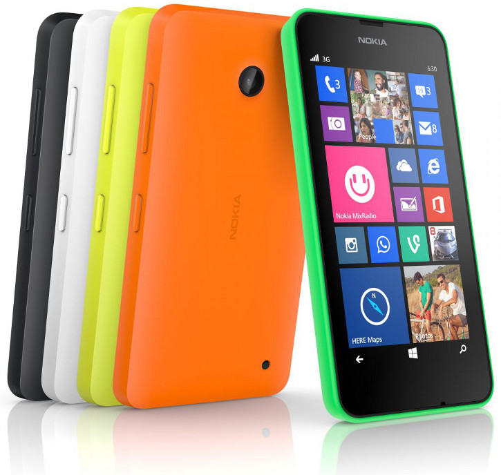 Nokia Lumia 630 Windows Phone 8.1 Nokia Cyan