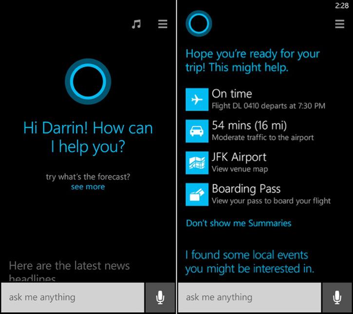 Osobisty asystent Cortana w Windows Phone 8.1