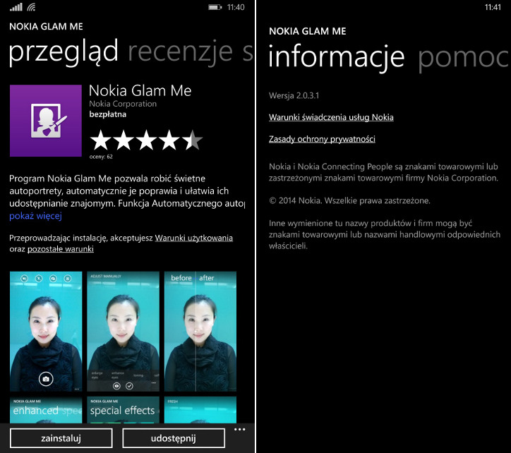 Nokia Glam Me Windows Phone