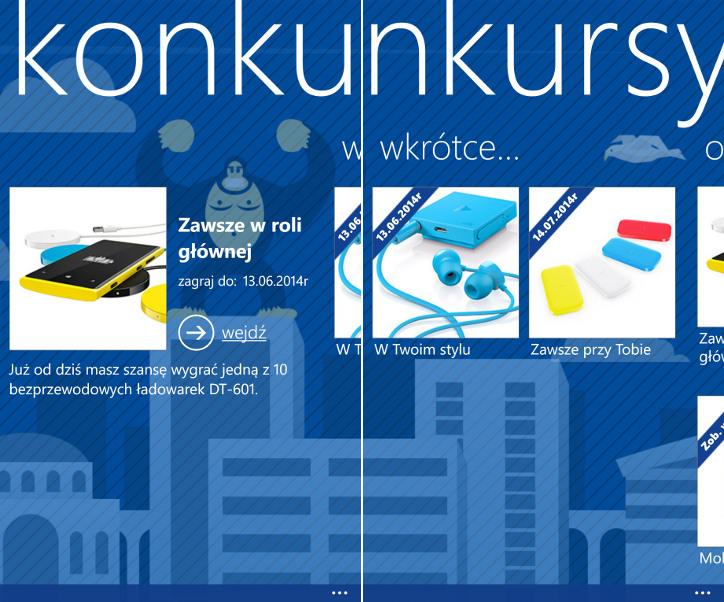 Nokia Konkursy dla Nokia Lumia od Wunderman Polska
