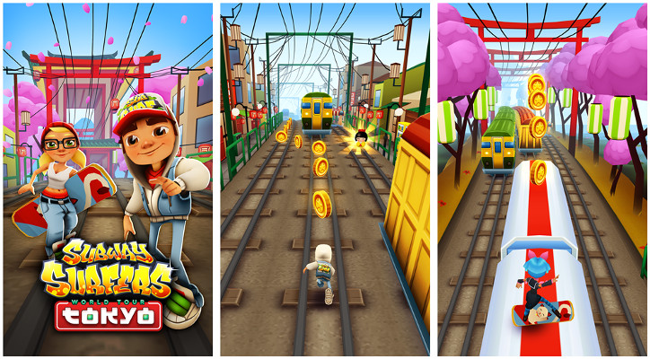 Subway Surfers Tokyo City Windows Phone