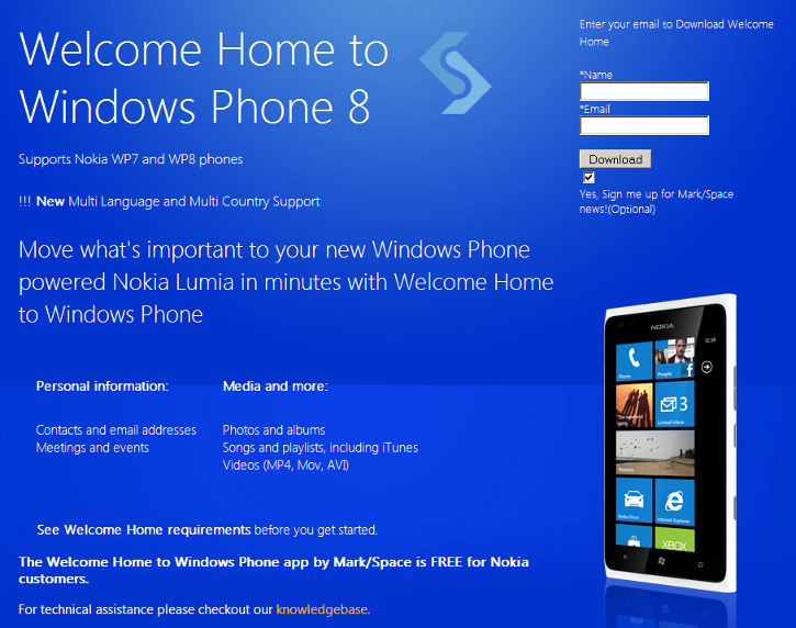 Welcome Home to Windows Phone