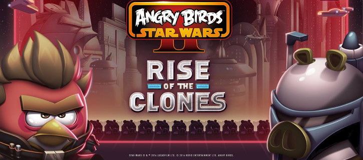 Angry Birds Star Wars II Rise of the Clones Windows Phone