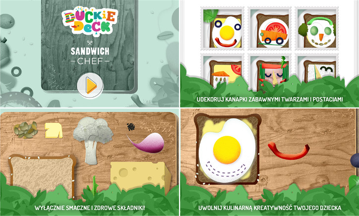 Duckie Deck Sandwich Chef Windows Phone