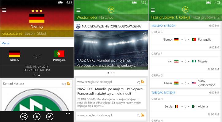 Onefootball Brasil dla Windows Phone