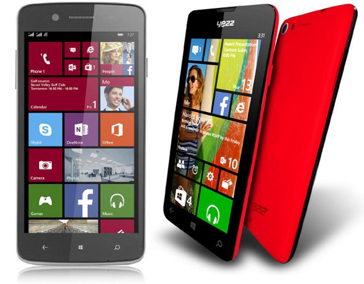 Prestigio MultiPhone 8500 DUO, Yezz Billy 4.7