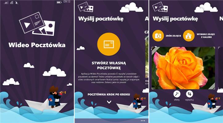 Wideo Pocztówka dla Nokia Lumia