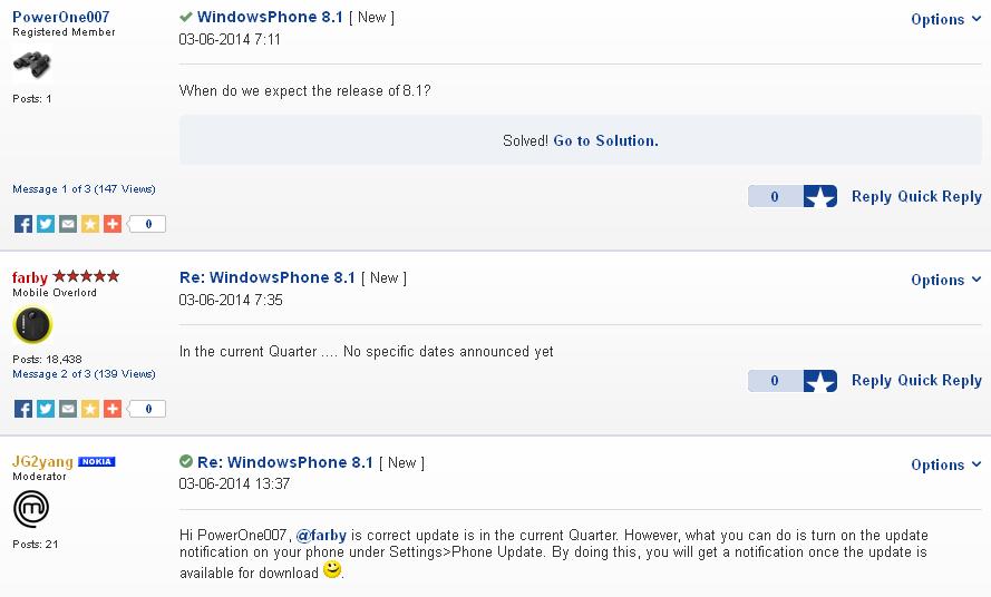 Kiedy Windows Phone 8.1