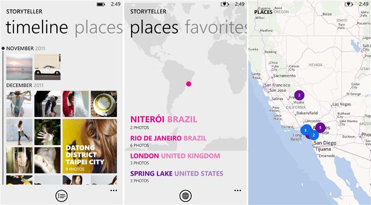 Nokia Storyteller Nokia Lumia