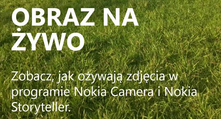 Obraz na żywo Nokia Lumia Windows Phone 8.1 Lumia Cyan