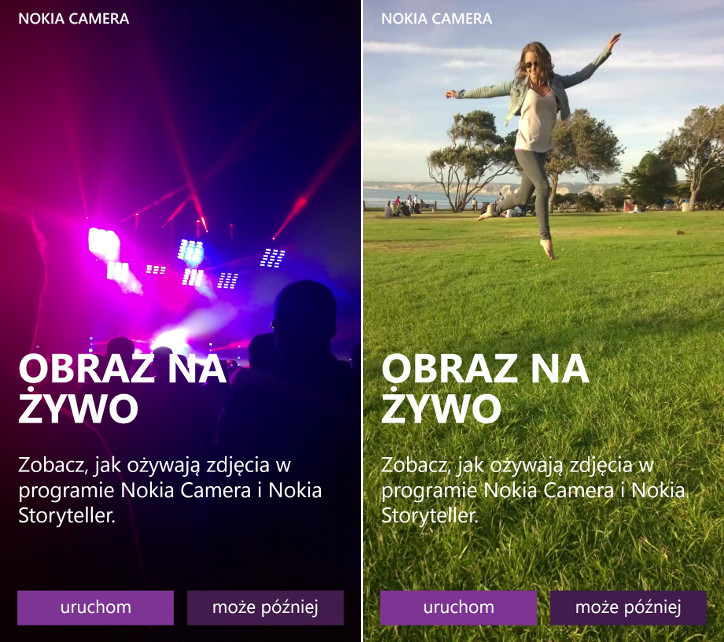 Obraz na żywo - Nokia Lumia Windows Phone 8.1 Lumia Cyan