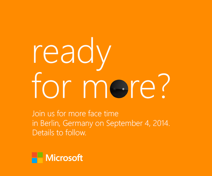 Ready for more? Microsoft IFA Berlin