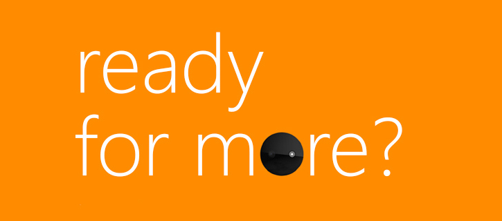 Ready for more? Microsoft