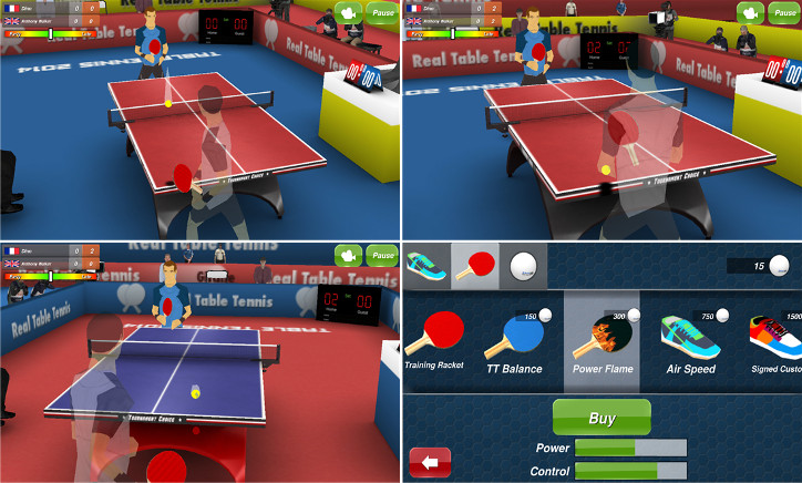 Table Tennis 3D Windows Phone