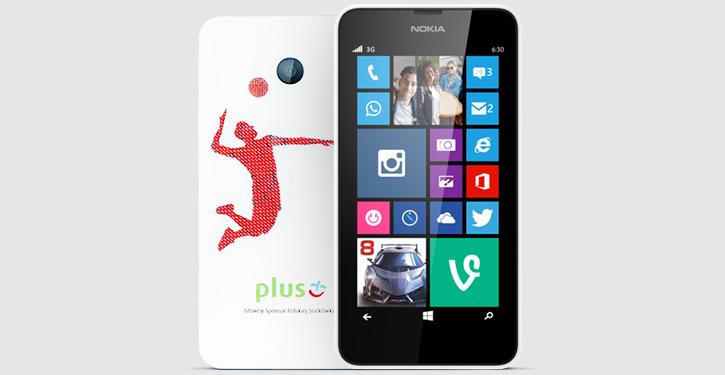 Obudowa Nokia Lumia 635 w sieci Plus