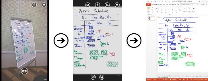 Office Lens plik PowerPoint