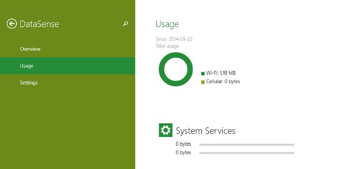 DataSense Windows 10 Technical Preview