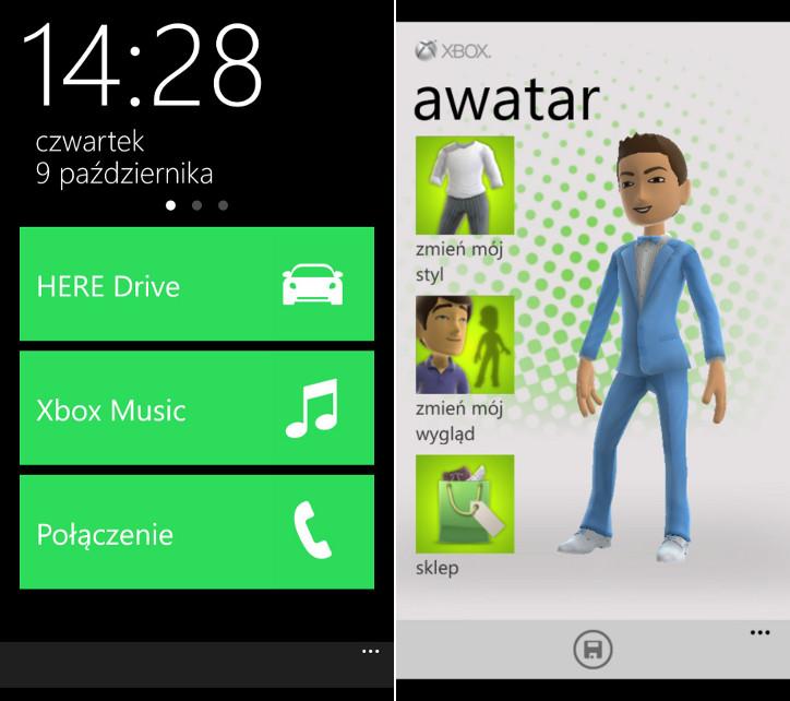 Lumia Car App i Xbox Extras