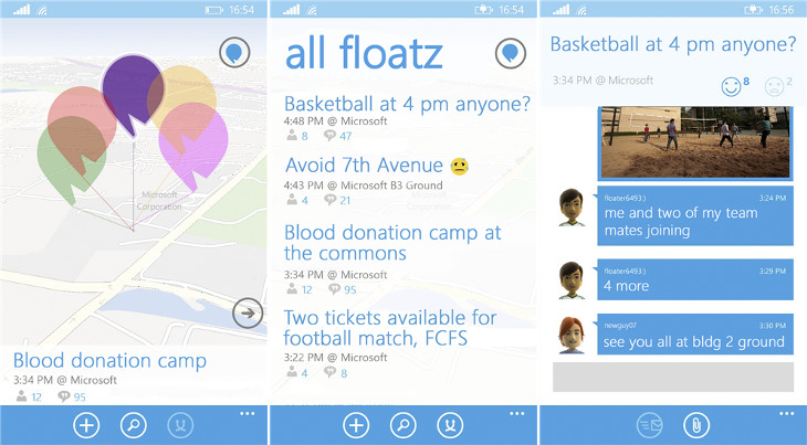 Floatz Windows Phone