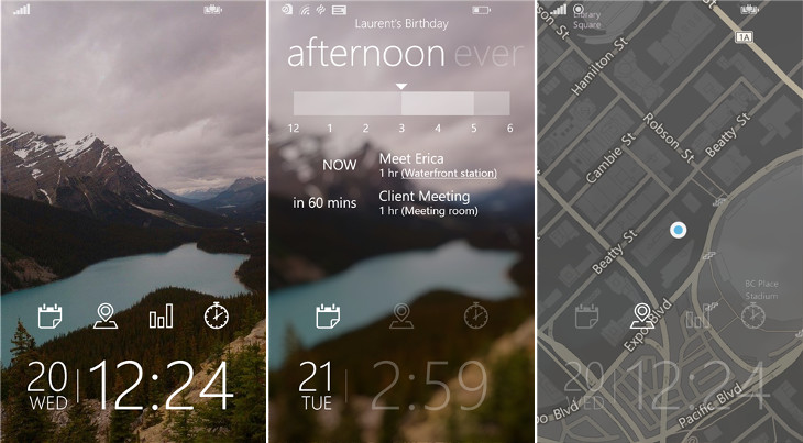 Tetra Lockscreen Windows Phone 8.1