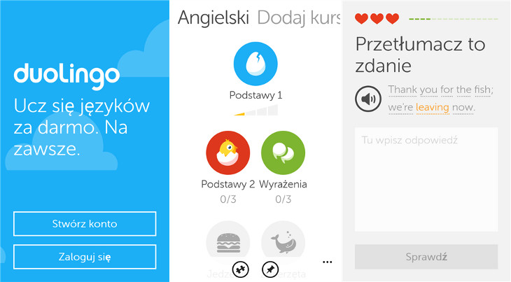 Duolingo Windows Phone