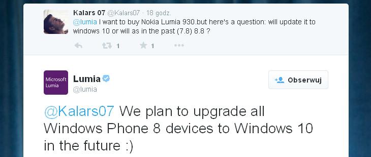 Windows 10 dla wszystkich WP8