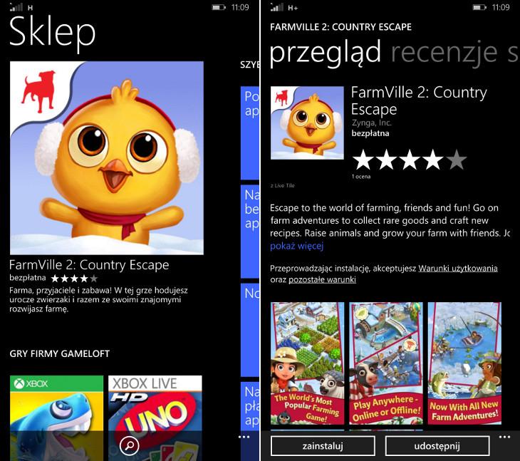 FarmVille 2: Country Escape Windows Phone