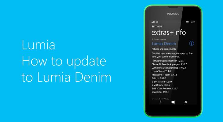 Jak zaktualizować oprogramowanie Lumia Denim