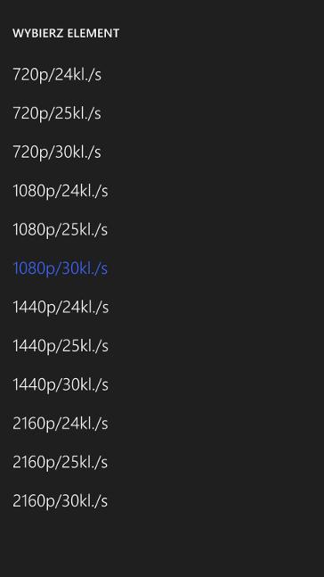Lumia Camera 5 z możliwością nagrywanie w 4K w Windows Phone 8.1 Update 1 (Lumia Denim)