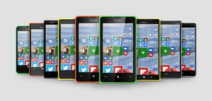 Microsoft Lumia Windows 10