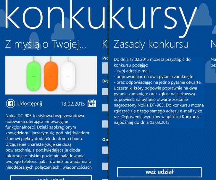 Nokia DT-903 Konkursy