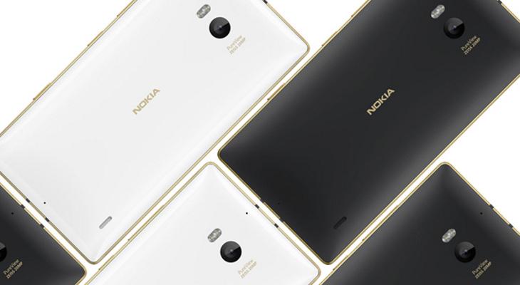 Złota Lumia 830 i 930