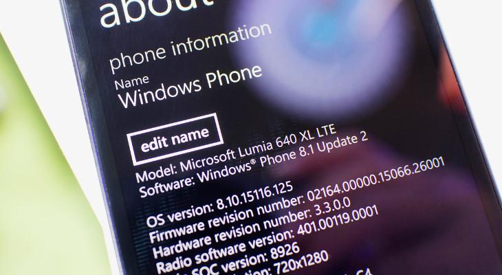 Microsoft Lumia 640 XL - Windows Phone 8.1 Update 2