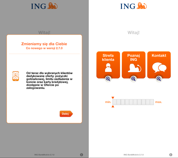 INGMobile 2.7.0 Windows Phone