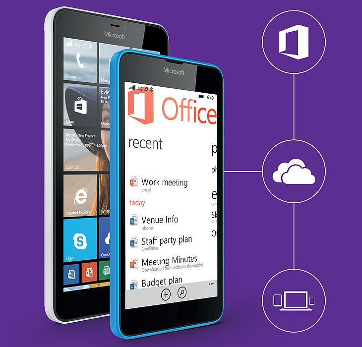 Microsoft Lumia 640 - subskrypcja Office 365 Personal