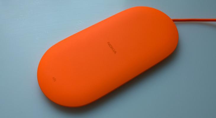 Ladowarka bezprzewodowa Nokia DT-903 - kolor pomarańczowy