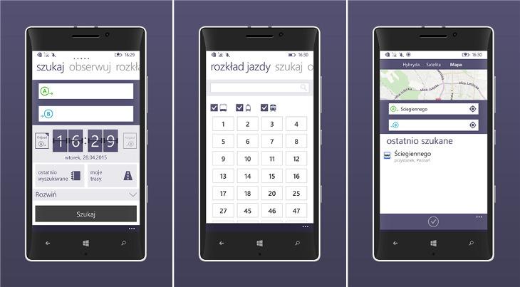 jakdojade.pl Windows Phone
