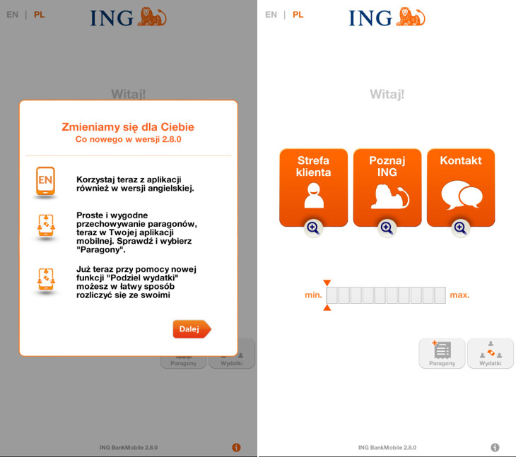 INGMobile 2.8.0 Windows Phone