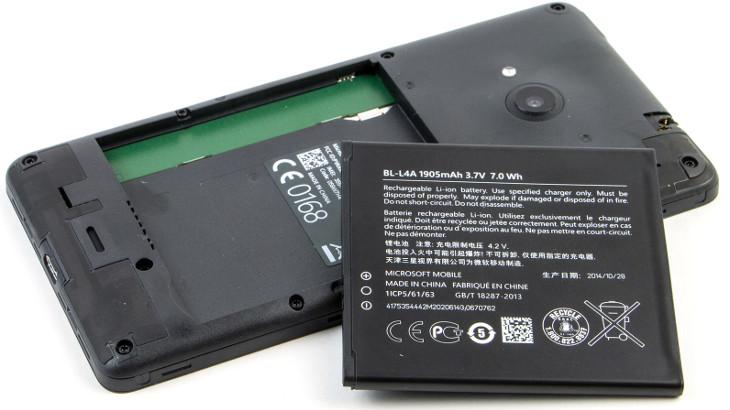 Microsoft Lumia 535 - bateria BV-L4A