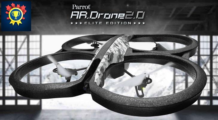 Dron Parrot w Promocje i Konkursy