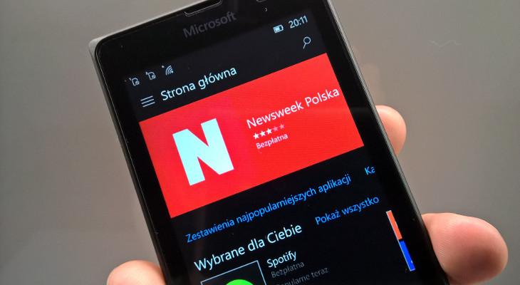 Sklep Windows Beta w Windows 10 Mobile
