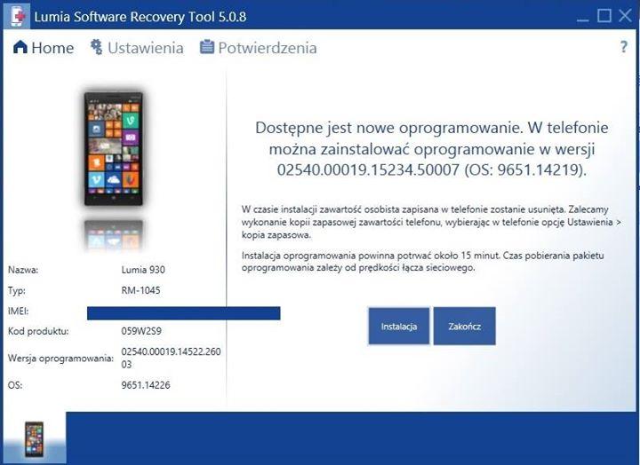 Lumia 930 LSRT