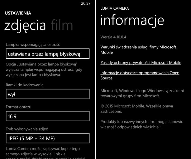 Lumia Camera 4.10.0.4